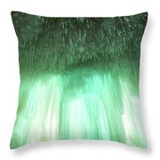 Emerald Cave - Grand Island On Lake Superior Throw Pillow