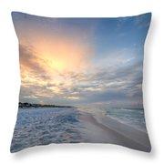 Emerald Gulf Throw Pillow