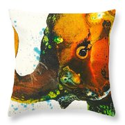 Rosie-ellie-eloise Throw Pillow