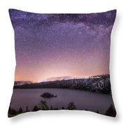 Emerald Nights  Throw Pillow