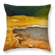 Emerald Pool 2 Throw Pillow