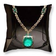 Emerald Prize Throw Pillow