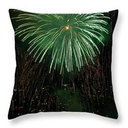 Emerald Sky Throw Pillow by David Patterson