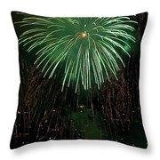 Emerald Sky Throw Pillow
