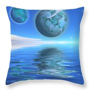 Emeraldo Throw Pillow