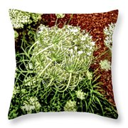 Emergence 3 Throw Pillow