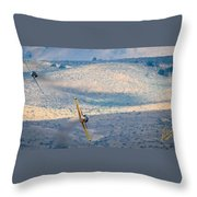 Emerging From The Valley Of Speed 16 X 9 Aspect Signature Edition Throw Pillow