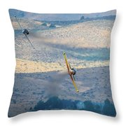 Emerging From The Valley Of Speed 5 X 7 Aspect Throw Pillow