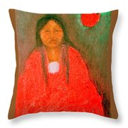 Emerging Throw Pillow