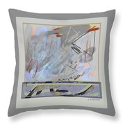 Emerging Memories Throw Pillow