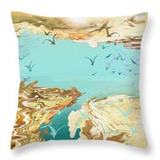 Emigration  Throw Pillow