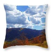 Emigration Canyon Throw Pillow