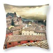 Emilia Romagna Italy Throw Pillow