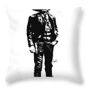 Emiliano Zapata Throw Pillow