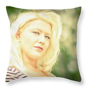 Emily #1 Royal Holden Throw Pillow