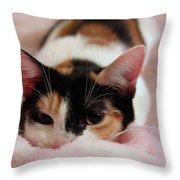 Emily, Too Precious  Throw Pillow