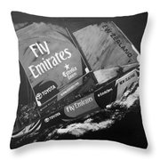 Emirates Team New Zealand Throw Pillow