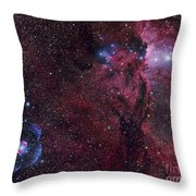 Emission Nebula Ngc 6188 Star Formation Throw Pillow