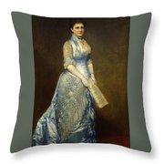 Emma Cecilia Thursby Throw Pillow