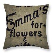 Emma's Throw Pillow