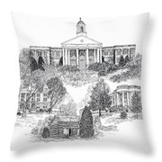 Emory And Henry College Throw Pillow