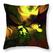 Emotion In Light Abstract Throw Pillow