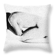 Emotional Beauty Throw Pillow