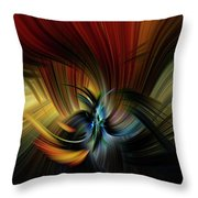 Emotional Release Throw Pillow