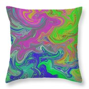 Emotional Vortex 2 Throw Pillow