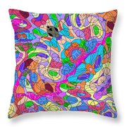 Emotions 1007 Throw Pillow by Brian Gryphon