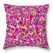 Emotions 318 Throw Pillow by Brian Gryphon