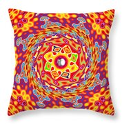 Emotions 416 Throw Pillow by Brian Gryphon