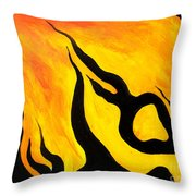 Emotions Of Waiting  Throw Pillow