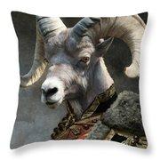 Emperor Jstor Jax Throw Pillow