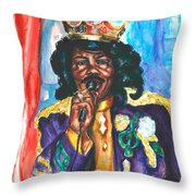 Emperor Of The Universe Throw Pillow