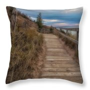 Empire Bluffs 3 Throw Pillow
