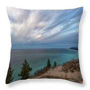Empire Bluffs 5 Throw Pillow