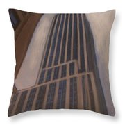 Empire State Building 1 Throw Pillow