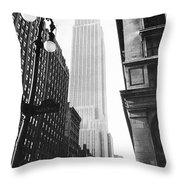 Empire State Building, 1931 Throw Pillow