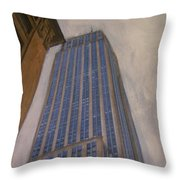 Empire State Building 2 Throw Pillow