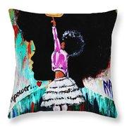 Empower Throw Pillow