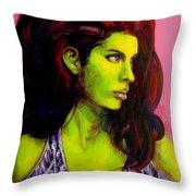 Empress At Rest Throw Pillow