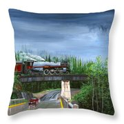 Empress In Southern Bc Throw Pillow