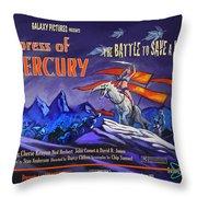 Empress Of Mercury 2 Throw Pillow