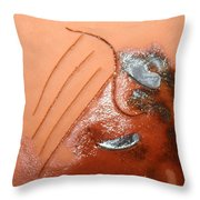 Emptiness - Tile Throw Pillow