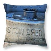 Empty Keg Throw Pillow