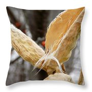 Empty Nester Throw Pillow