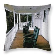 Empty Retirement Throw Pillow by Methune Hively