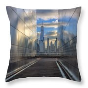 Empty Sky Memorial Throw Pillow