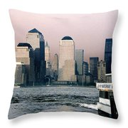 Empty Sky Throw Pillow